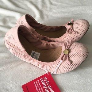 Dexflex Comfort Pink Flats 7.5